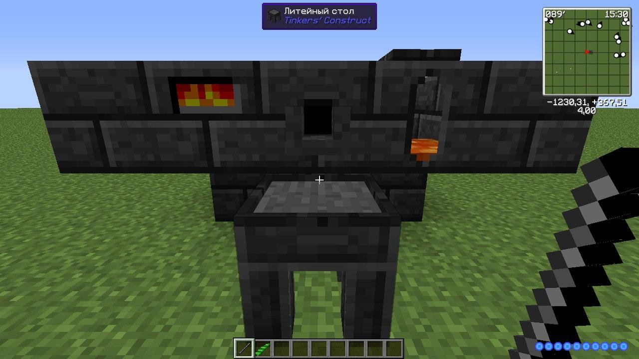 Как сделать плавильня из tinkers construct 514