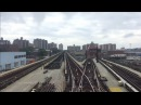 NYC Subway Nostalgia HD 60fps: Riding R1 381 100 Railfan Window (RFW) On Coney Island Fan Trip