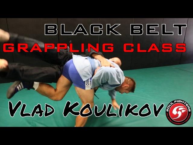 Black Belt Grappling Class Georgian Grip Sambo Fusion BJJ TRITAC