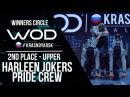 HARLEEN JOKER'S PRIDE CREW 2nd Place Winner Circle WOD Krasnoyarsk WODKRSK17