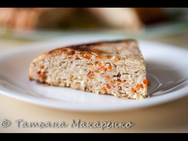 Запеканка из куриного фарша с капустой((Tortilla Chef 118000 Princess)