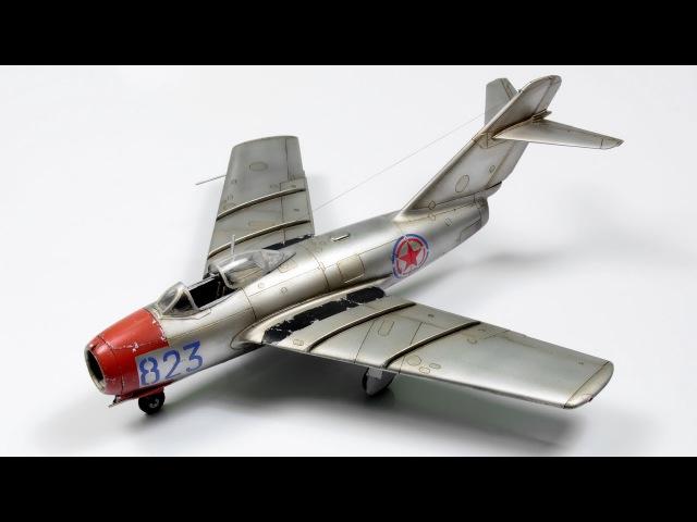 Mig-15 Eduard 172 - Jet Aicraft Model