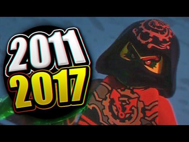 ВСЕ ЗАСТАВКИ LEGO Ninjago (2011-2017)!