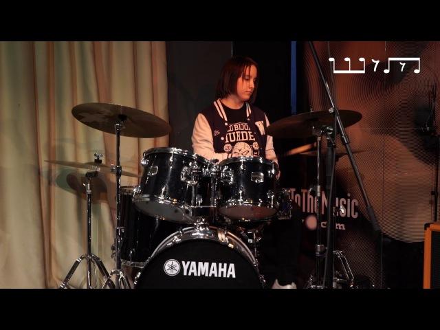 Катя Попова Five Finger Death Punch–The Pride drum cover