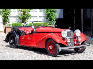 Alvis 4 3 Litre Short Chassis Vanden Plas Tourer 1938