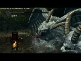 Dark Souls Two Sanctuary Guardian (NG+7) Два стража святилища (НГ+7, без лечения)