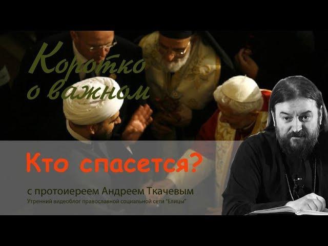 Кто попадет в Рай? Кто спасется? Только православные? Прот. Андрей Ткачев (2017) О до...