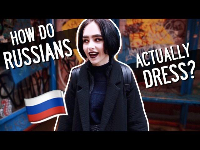 How do Russians ACTUALLY dress | Moscow Street Style