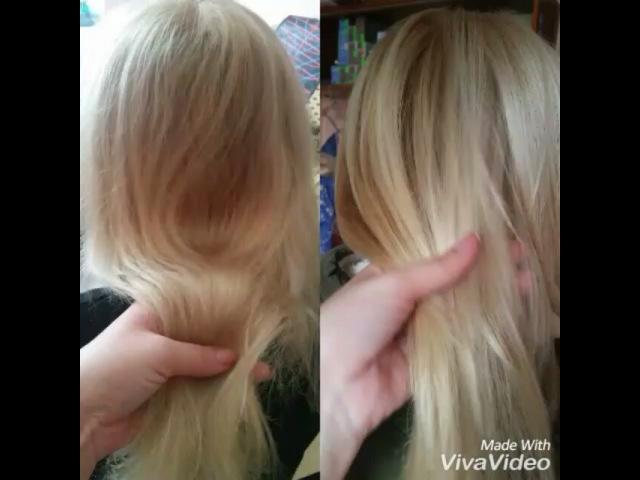 Ольга восстановление волос работали salerm21 и honmatokyo -Experian инфракрасныйутюжок стрижка полировка