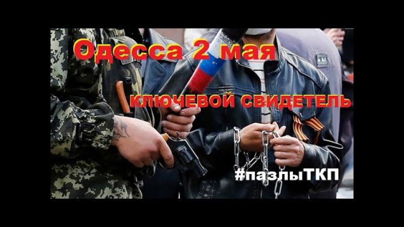 Одесса 2 мая. Ключевой свидетель пазлыТКП (Мефёдов 2 часть)