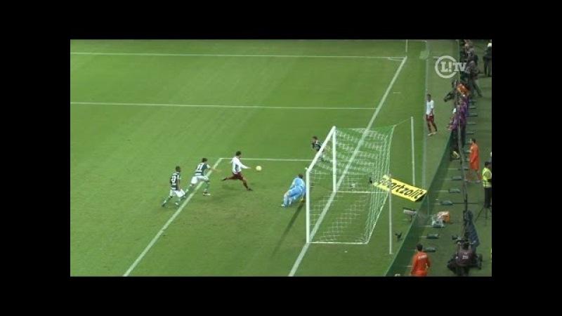 Incrível! No mesmo lance, Prass salva o Palmeiras e Fred perde chance