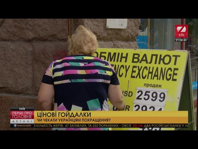 Цінові гойдалки. Чи чекати українцям покращення?