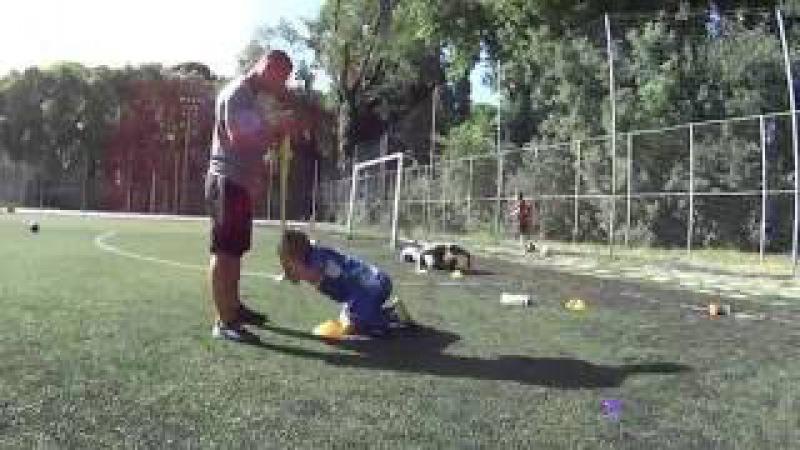 ТРЕНИРОВКА СКОРОСТИ и скоростной выносливости у детей (юных футболистов)