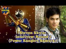 Steven Skyler Power Rangers Samurai Interview Morphin Monday That Hashtag Show