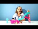 Играем в куклы Барби Бассейн с горкой Челси щенята брызги видео для девочек Chelsea pool Barbie