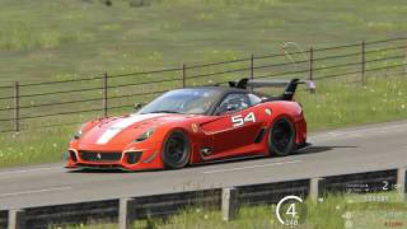 Assetto Corsa - Ferrari 599XX (Highlands Long)