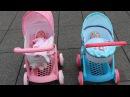 Hello Kitty Doll Pram Baby Annabell Baby Born 10 Baby Dolls in 7 Pram Stroller Go Out for a walk