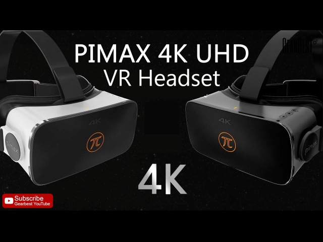 PIMAX 4K UHD Virtual Reality 3D Headset for PC - WITH EARPHONES【Coupon: LHPIMAX】 - Gearbest.com