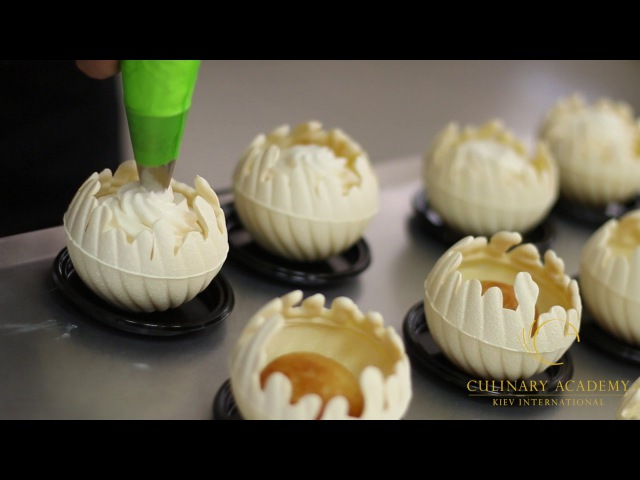 JÉRÔME DE OLIVEIRA class in Kiev International Culinary Academy, 30 May -1 June, 2016