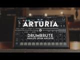 Arturia DrumBrute Analog Drum Machine &amp Sequencer  Reverb Demo Video