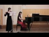 Лилия Исхакова - пьеса для флейты и фортепиано