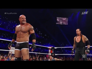 РУС.: 545TV WWE - Royal Rumble - Goldberg in 30 Man Match /