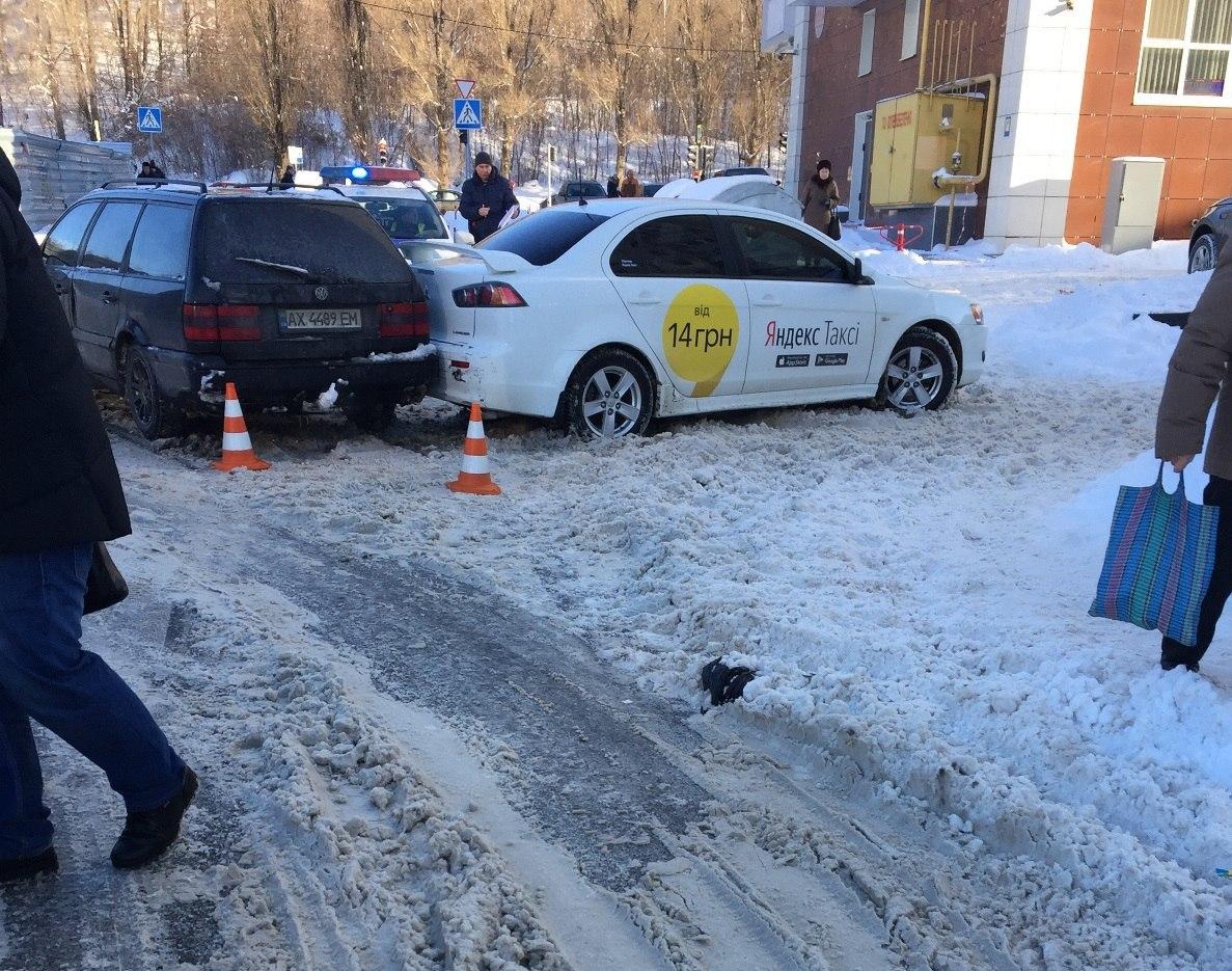 В Харькове произошло несколько аварий с участием Яндекс.Такси (ФОТО)