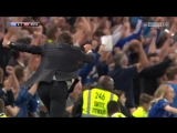 Радость Конте после победного гола