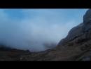 гора Вухатий камінь круто побувати в хмарі