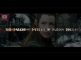 The Hobbit (Part 1)- Song Of Durin by Eurielle - Lyric Video (Lyrics by J.R.R. Tolkien)