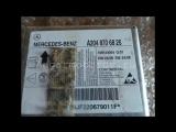 Блок управления AIR BAG Mercedes W204 C-class a2048706826 2048706826