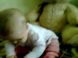 Наш маленький ведмедик)))