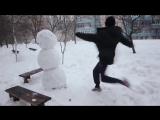 Как отп٭здить снеговика!!! Ахаха! Смешные видео 2016! Короткие видео приколы 2016! Юмор! Угар! Ржач!