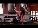 Keaira LaShea  Upperbody Rollercoaster. Daily Burn  Тренировка для верхней части тела