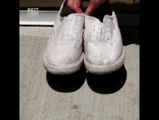 Как сделать обувь снова белой