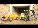 Мультик про машинки. Трактор, погрузчик, паровоз. МанкитуМульт
