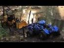 Мультик про машинки. Трактор, кран, погрузчик и экскаватор. МанкитуМульт
