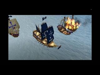 Кампания Age of Empires 3 - Часть 1 : Кровь #3 Пираты!