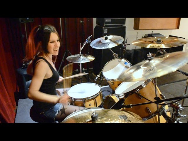 Slayer South of Heaven Drum Cover (by Nea Batera)