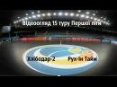 Відеоогляд 15 туру Першої ліги Хлібодар 2 7 6 Рух Ін Тайм