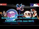 MLB The Show 17 Minnesota Twins vs. San Francisco Giants Predictions #MLB (11th June 2017)