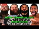 NJPW Dominion 2017 IWGP Tag Team Championship War Machine vs. Guerrillas of Destiny Predictions
