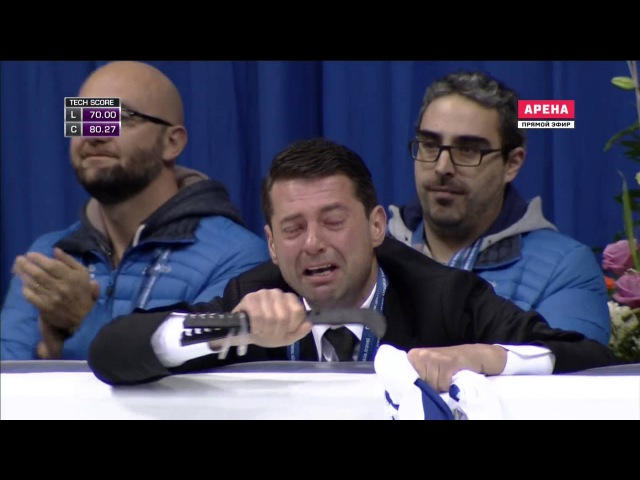 ISU European Championships 2016 FS Florent AMODIO