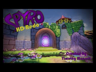 Spyro - HD-Redo (Sunrise Spring Homeworld)