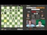 Грищук - Карлсен, 5 партия, 5+2, Ферзевый гамбит