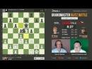 Грищук - Карлсен, 7 партия, 5+2, Ферзевый гамбит