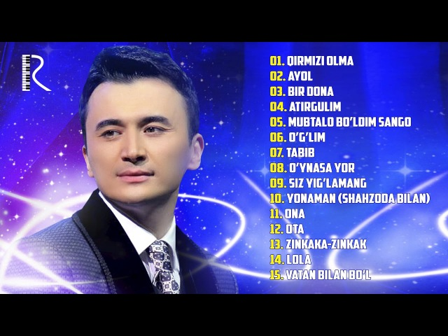 Ulugbek Rahmatullayev - Qirmizi olma albom dasturi 2016
