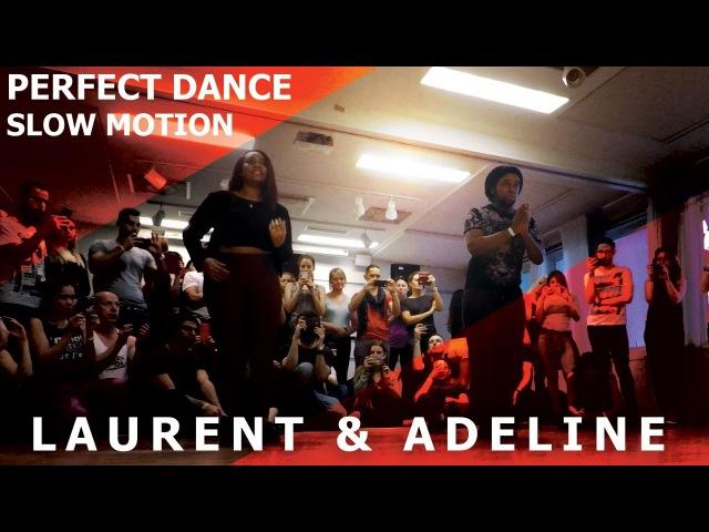 Laurent Adeline Urban Kiz Slow Motion Dance @ Sweden Kizomba Festival 2017 / Say Yeah