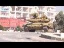 Т 90 ведет бой в Алеппо