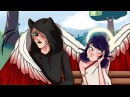 Комикс Леди Баг и Супер Кот AU Ангел и Демон